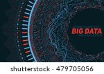 big data visualization.... | Shutterstock .eps vector #479705056