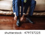 business man dressing up with... | Shutterstock . vector #479737225