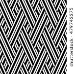 the geometric pattern with... | Shutterstock . vector #479743375