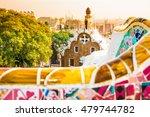 inside the park guell barcelona | Shutterstock . vector #479744782