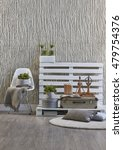concrete wall interior handmade ... | Shutterstock . vector #479754376