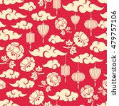 chinese seamless pattern with... | Shutterstock .eps vector #479757106