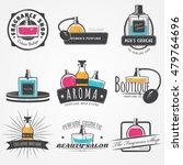 the fragrance shop set.... | Shutterstock .eps vector #479764696