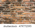 old brick wall  brick wallpaper ... | Shutterstock . vector #479772595