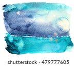 'vibrant horizon'  abstract... | Shutterstock . vector #479777605