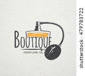 perfume  boutique label.... | Shutterstock .eps vector #479783722