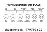 horizontal pain measurement... | Shutterstock .eps vector #479793622