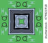 circular  pattern with zodiac... | Shutterstock .eps vector #479821918