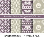 antique seamless background... | Shutterstock .eps vector #479835766