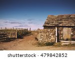 Traditional Old Farmhouse In...