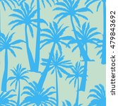 palm tree  tropics   vector ... | Shutterstock .eps vector #479843692