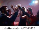 champagne booze | Shutterstock . vector #479848312