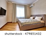 bedroom with a beautiful... | Shutterstock . vector #479851432