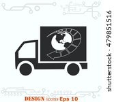 delivery sign icon  vector... | Shutterstock .eps vector #479851516