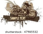 Vector Grunge Background With ...