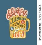 lettering typography ... | Shutterstock .eps vector #479874316