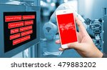 industry internet of things ... | Shutterstock . vector #479883202