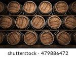 Wooden Winemaking Barrel 3d...