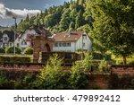 a brick built house among the... | Shutterstock . vector #479892412