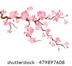 vector illustration. branch of... | Shutterstock .eps vector #479897608