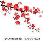 vector illustration. branch of...   Shutterstock .eps vector #479897635