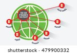 vector circular object with... | Shutterstock .eps vector #479900332
