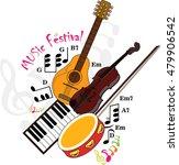 vector   music art | Shutterstock .eps vector #479906542
