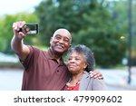 elderly african american man... | Shutterstock . vector #479909602