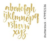 alphabet letters. lowercase.... | Shutterstock . vector #479952136