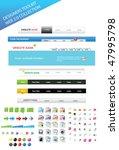 designers toolkit   web 2.0... | Shutterstock .eps vector #47995798