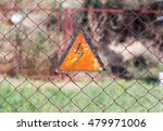 On The Fence Sign Danger Zone