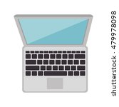 laptop computer device | Shutterstock .eps vector #479978098