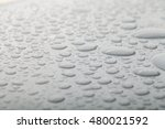 drops of water on a color... | Shutterstock . vector #480021592