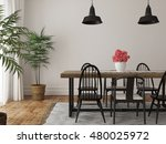 3d illustration of interior of... | Shutterstock . vector #480025972