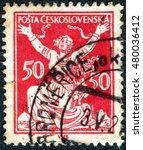 czechoslovakia   circa 1920 ... | Shutterstock . vector #480036412