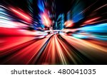 colorful acceleration speed... | Shutterstock . vector #480041035