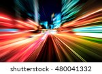 colorful acceleration speed... | Shutterstock . vector #480041332