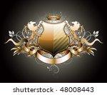 vector illustration of heraldic ... | Shutterstock .eps vector #48008443