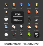 color icons set in flat... | Shutterstock .eps vector #480087892