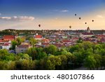 Beautiful Summer Panorama Of...