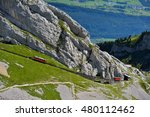 The Two Red Pilatus Train  The...