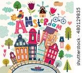 vector illustration in cartoon... | Shutterstock .eps vector #480129835