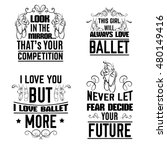 collection of  quote... | Shutterstock .eps vector #480149416