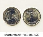 Vintage Looking Currency Of...