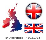 United Kingdom  England Flag ...