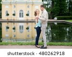 love story  young couple.... | Shutterstock . vector #480262918