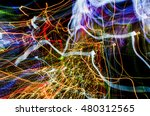colorful glowing abstract... | Shutterstock . vector #480312565