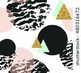 abstract geometric seamless... | Shutterstock . vector #480316672