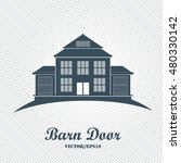 barn icon  farm house building...   Shutterstock .eps vector #480330142