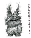 fairy tale characters  trolls ... | Shutterstock . vector #480347992